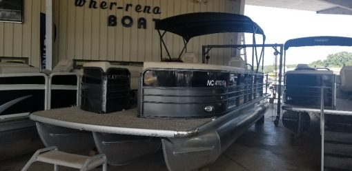 2018 Coach 250RF Pontoon (tritoon) 250 hp Honda